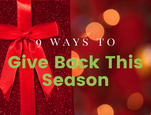 9 Ways To Give Back This Season